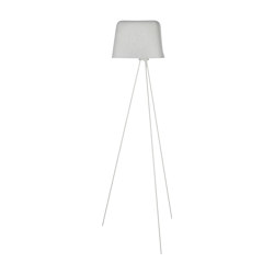 Felt Floor White | Free-standing lights | Tom Dixon