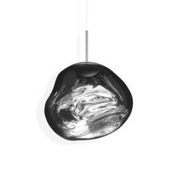 Melt Pendant Chrome LED | Suspended lights | Tom Dixon