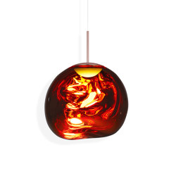 Melt Pendant Copper LED | Suspended lights | Tom Dixon