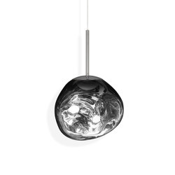 Melt Pendant Mini Chrome LED | Suspensions | Tom Dixon