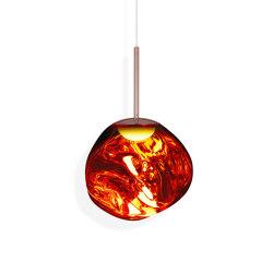 Melt Pendant Mini Copper LED EU   Suspended lights   Tom Dixon