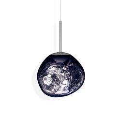 Melt Pendant Mini Smoke LED EU   Suspended lights   Tom Dixon