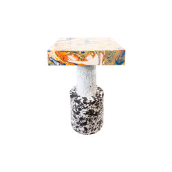 Swirl Side Table Medium | Mesas auxiliares | Tom Dixon