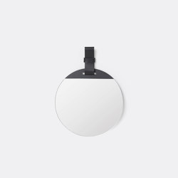 Enter Mirror - Small - Black | Mirrors | ferm LIVING