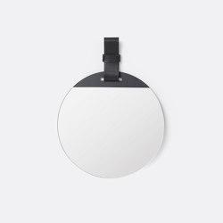 Enter Mirror - Small - Black   Espejos   ferm LIVING