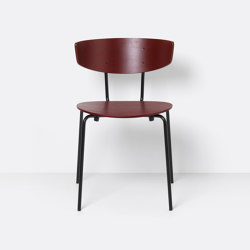 Herman Chair - Red Brown | Stühle | ferm LIVING