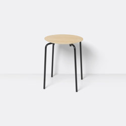 Herman Stool - Natural Oak Veneer | Chairs | ferm LIVING