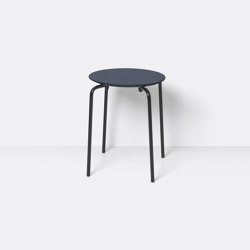 Herman Stool - Dark Blue | Chairs | ferm LIVING