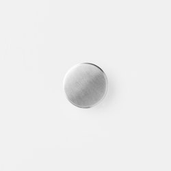 Hook - Steel - Large - Stainless Steel | Cabinet knobs | ferm LIVING