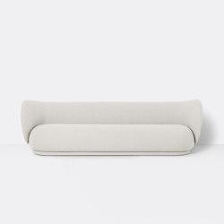 Rico 4-Seater Sofa - Bouclé - Off-White   Canapés   ferm LIVING