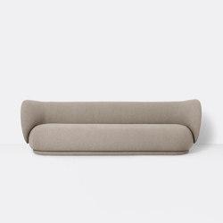 Rico 4-Seater Sofa - Bouclé - Sand | Divani | ferm LIVING