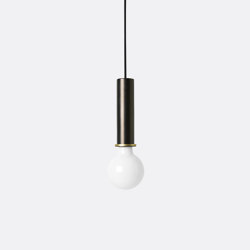 Socket Pendant - High - Black Brass | Suspended lights | ferm LIVING
