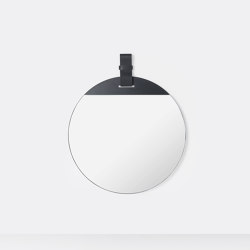 Enter Mirror - Large - Black | Mirrors | ferm LIVING