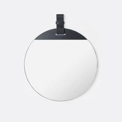 Enter Mirror - Large - Black | Espejos | ferm LIVING