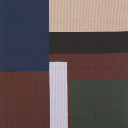 Shay Patchwork Quilt Blanket - Cinnamon | Plaids | ferm LIVING