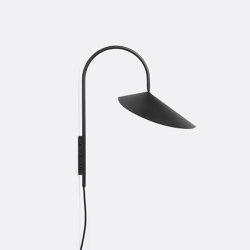 Arum Wall Lamp - Black | Wall lights | ferm LIVING