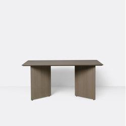 Mingle Table Top 160 cm - Dark Stained Oak Veneer | Tavoli pranzo | ferm LIVING