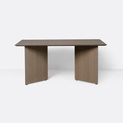 Mingle Table Top 160 cm - Dark Stained Oak Veneer | Esstische | ferm LIVING