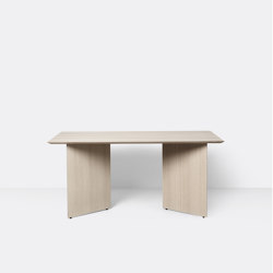 Mingle Table Top 160 cm - Natural Oak Veneer | Dining tables | ferm LIVING