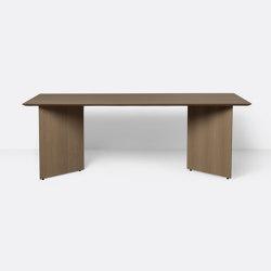 Mingle Table Top 210 cm - Dark Stained Oak Veneer | Esstische | ferm LIVING