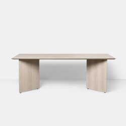 Mingle Table Top 210 cm - Natural Oak Veneer | Dining tables | ferm LIVING