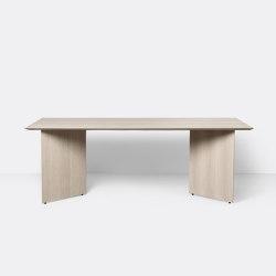 Mingle Table Top 210 cm - Natural Oak Veneer | Tables de repas | ferm LIVING