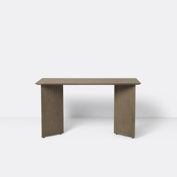 Mingle Desk Top 135 cm - Dark Stained Oak Veneer | Console tables | ferm LIVING