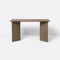 Mingle Desk Top 135 cm - Dark Stained Oak Veneer | Schreibtische | ferm LIVING