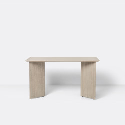 Mingle Desk Top 135 cm - Natural Oak Veneer | Tables consoles | ferm LIVING