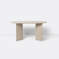 Mingle Table Top Oval 150 cm - Natural Oak Veneer | Dining tables | ferm LIVING