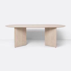 Mingle Table Top Oval 220 cm - Natural Oak Veneer | Esstische | ferm LIVING