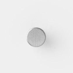 Hook - Steel - Small - Stainless Steel | Pomos para muebles | ferm LIVING