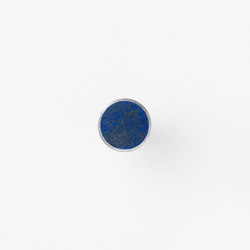 Hook - Steel - Stone - Small - Blue Lapis Lazuli | Single hooks | ferm LIVING