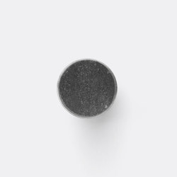 Hook - Steel - Marble - Large - Black Marble | Cabinet knobs | ferm LIVING