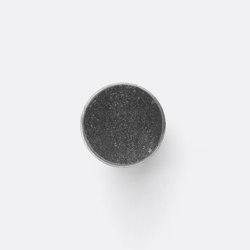 Hook - Steel - Marble - Large - Black Marble | Ganchos simples | ferm LIVING