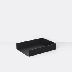 Letter Tray - Dark Stained Ash | Bandejas | ferm LIVING