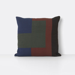 Shay Quilt Cushion 50 x 50 - Cinnamon | Coussins | ferm LIVING