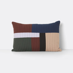 Shay Quilt Cushion 60 x 40 - Cinnamon | Cojines | ferm LIVING