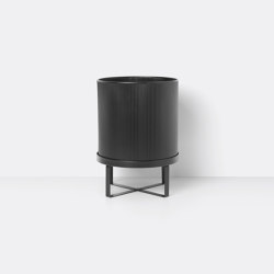 Bau Pot - Large - Black | Plant pots | ferm LIVING