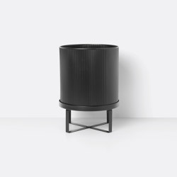 Bau Pot - Large - Black | Maceteros | ferm LIVING