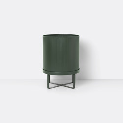 Bau Pot - Large - Dark Green | Plant pots | ferm LIVING