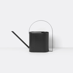 Bau Watering Can - Large - Black | Garden accessories | ferm LIVING