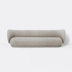 Rico 4-Seater Sofa - Brushed - Sand   Canapés   ferm LIVING
