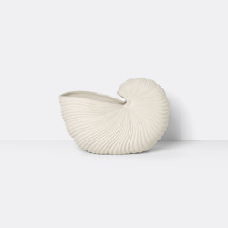 Shell Pot - Off-White | Floreros | ferm LIVING