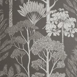 Katie Scott Wallpaper - Trees - Brown Grey | Carta parati / tappezzeria | ferm LIVING