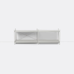 Punctual Shelving System 2x2 - Grey | Estantería | ferm LIVING