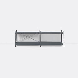 Punctual Shelving System 2x2 - Dark Blue | Estantería | ferm LIVING