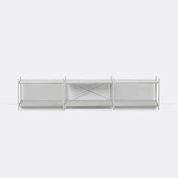 Punctual Shelving System 3x2 - Grey | Estantería | ferm LIVING