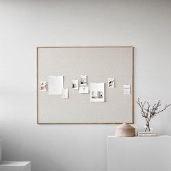 Wood noticeboard | Flip charts / Writing boards | Lintex