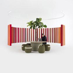 Soundsticks | Divisores de habitaciones fonoabsorbentes | OFFECCT